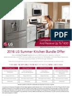 2016 Lg Summer Kitchen Bundle