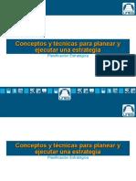 Conceptos y técnicas para planear y ejecutar una estrategia