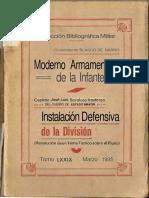 Moderno Armamento de la Infantería 1935. IV El fusil automático individual..pdf
