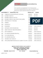 6.4 Current Job Listings