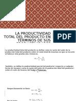Unidad 3 Medicion de La Productividad