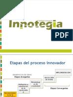 etapas del proceso innovador