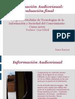 Informacion Audiovisual
