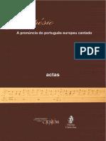 Actas Portugues Europeu Cantado Texto Completo