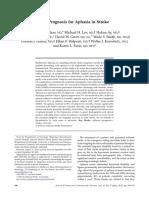 The Prognosis for Aphasia in Stroke.pdf