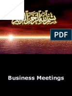 PRENSENTATIO SLIDES OF BUSINESS MEETINGS