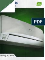 Inverter technoloty Air Conditoner -Catalog