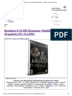 Resident Evil HD Remaste...- IntercambiosVirtuales