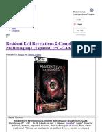 Resident Evil Revelation...- IntercambiosVirtuales