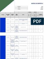Matriz de Identificacion de Peligros y Valoracion Del Riesgo
