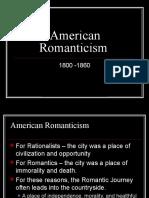 ela 11 unit 2 romanticism poetrycharacteristics