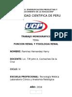Trabajo Monográfico de Uroanalisis.