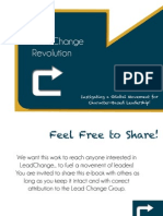 The Lead Change Revolution
