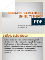 Señales Variables y Osciloscopio