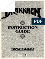 Drakkhen Instructions