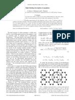 Reich Et Al._2002_Tight-Binding Description of Graphene_Physical Review B