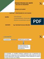 Viscosimetría y Comprsibilidad