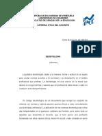 Deontologia y Etica - Etica