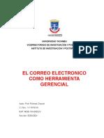 Ensayo sobre Correos Electronicos
