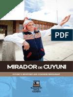 Brochure Mirador de Cuyuni Ingles 35