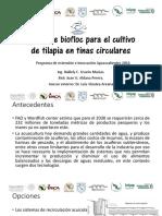 Taller de Biofloc Para El Cultivo de Tilapia Aguascalientes