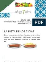 Dieta de los 7 días