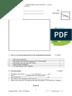 BI Year 3 - Paper 1