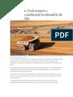 Empresas Mineras y Sus Inversiones en America Latina