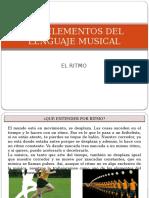 Los Elementos Del Lenguaje Musical El Ritmo