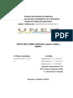 Portada y Sub-portadas Tesis Lic- II 2014 Definitiva