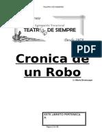Cronica De un Robo
