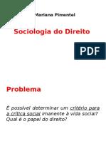 Sociologia Revisão Noite 2016 Segundo Semestre