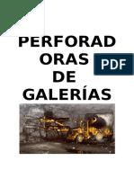 Catalogo Perforadoras de Galerias