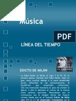Línea Del Tiempo Hist Musica