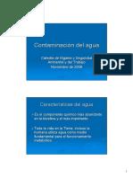 Contamiancion Del Agua