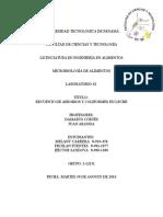 RECUENTO DE AEROBIOS Y COLIFORMES EN LECHE