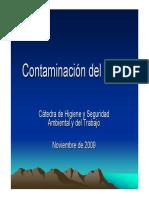 Clase de Contaminacion Del Suelo