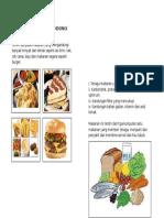 Makanan Yang Mengandungi Lemak