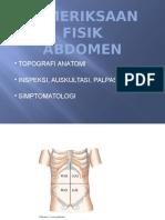 Pemeriksaan Abdomen - dr.ommy.pptx