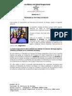Modulo 4 - Panorama de Factores de Riesgo