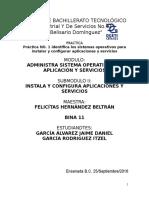 Practica Integradora1 Identifica Los Sistemas Operativos Para Instalar y Configurar Aplicaciones y Servicios Eqp0 No. 11 Grupo 5amp
