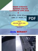 Seminar teknik & KBAT math 2016 ST Mary.pptx