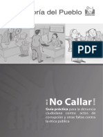 Guía Denuncia Ciudadana 2016