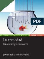 La Ansiedad, Un Enemigo Sin Rostro - Javier Schlatter