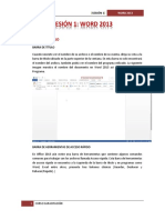 Word 2013 - Sesion 1