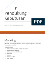 4. Modeling and Analysis