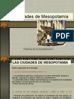 Ciudades de Mesopotamia