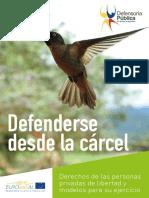 Defenderse Desde Carcel Procedimientos Penitenciarios