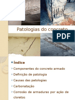 Patologias Do Concreto