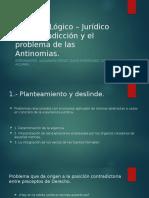 Principio Lo¦ügico ÔÇô Juri¦üdico de Contradiccio¦ün y el [Autoguardado]